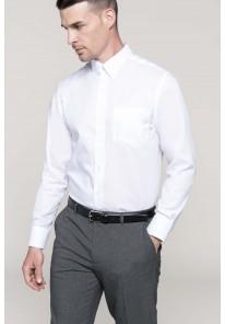 Chemise manches longues sans repassage