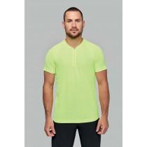 T-shirt sport 1/4 zippé